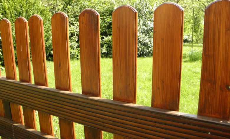 Hardwood fences